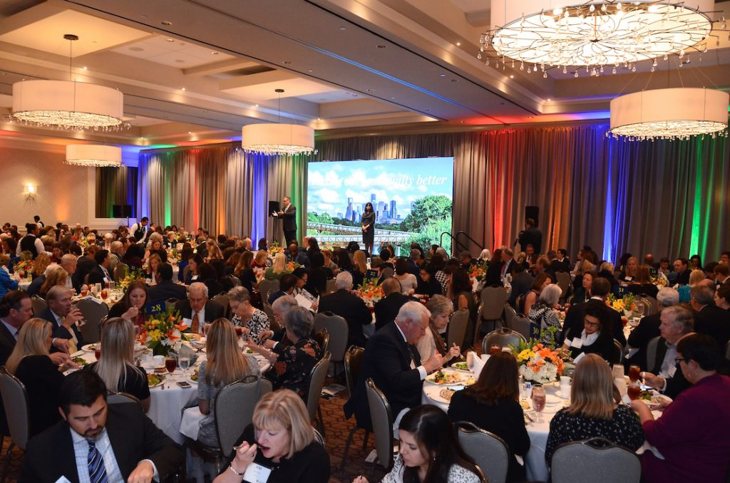 The Greater Houston Community Foundation (GHCF) launched Understanding Houston on November 21, 2019 with a luncheon at the Briar Club.